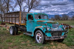Wood Panel Truck, Retired