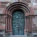 Church door Villingen Germany
