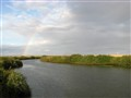 Rainbow over Nura River AFTER