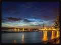 Noctiluscent clouds over river Forth