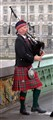 Scotsman on Westminster Bridge