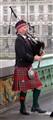 Scotsman on Westminster Bridge