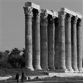 The temple of Olympian Zeus.