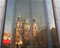 Old in New: St Nicholas' Church, Old Town Square, Prague (Cz)