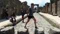 Street crossing Pompeii