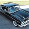 High view of 1957 Chev Bel Air hard top
