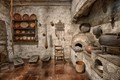 Kitchen of Mission San Carlos Borromeo. Carmel. USA