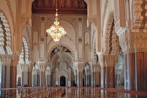 Mosque of Hassan II-Casablanca