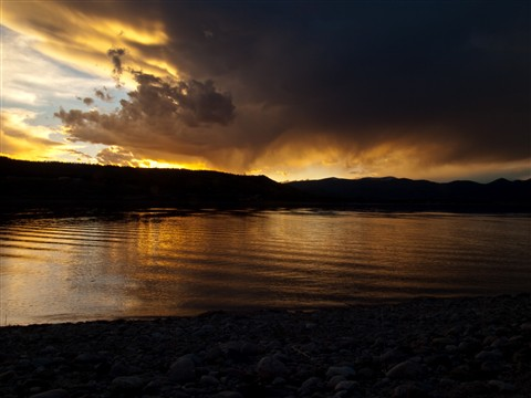 Sunset at Sunset bay RMNP 2 (1 of 1)
