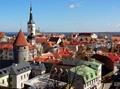 Over the roofs of Tallinn