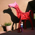 The Giant Red Horse