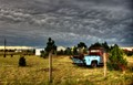 Truck and Clouds