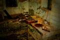 Kitchen in ruins