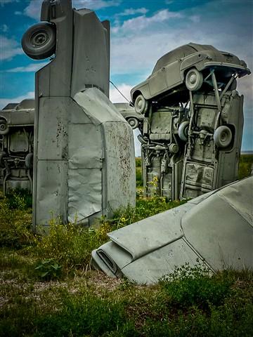 Tilted-Carhenge