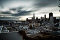 Morning Clouds, Downtown San Francisco