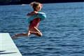 Bev's summer jump
