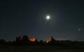 Trona Pinnacles Night Sky-5033