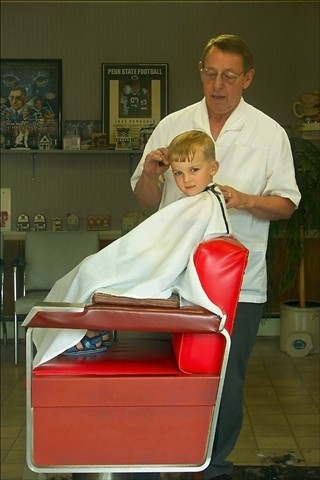 Small town barber