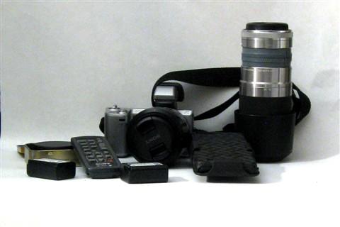 Domke F8 bag contents