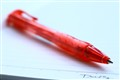 just a normal red pen