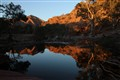 Sunrise in Brachina Gorge