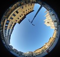 A Clear Day at the Piazza Santa Croce