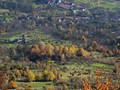 fall through the hills