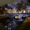 Stone bridge in Alingsås: Taken in the evening during the spring this year.