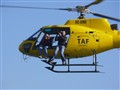 TV Helicopter during start Barcelona World Race