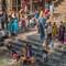 Bathing in Holy Bagmati River, Pashupatinath Temple, Kathmandu: