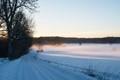 Snow mist landscape (Läby, Sweden)