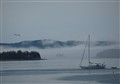 Fog in Stonington Harbor