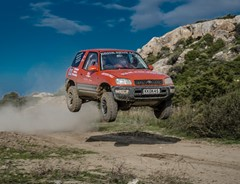 Alagadi Off Road Rally. Cyprus