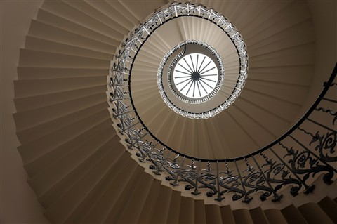 Tulip Staircase. Queen's House.