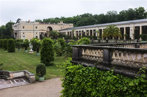 Frederick the Great's grandson's greenhouse.