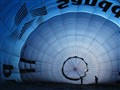Inside the balloon