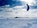 Parachute on Gorkovskii pool