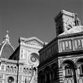 il Duomo di Firenze con il battistero e il campanile di Giotto