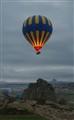 Liftoff over Cappadocia