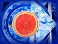 First course - grapefruit