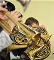 Big band rehearsal
