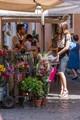 Rome flower stall