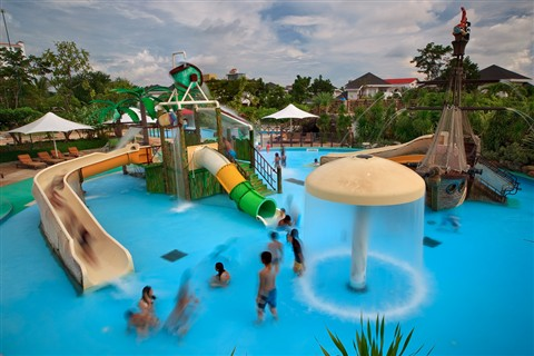 Children's Pool Playground
