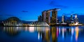 Marina Bay Sands Singapore - Reflective Waters