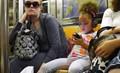 Virtual reality and social realism, New York tube