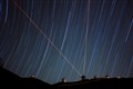 Star Trails with Lasers
