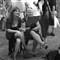 Tango girls in San Telmo