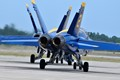 Blue Angels heading out for another practice session at NAS Pensacola.