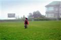 Stroll in fog