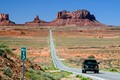 monument valley road at marker 13